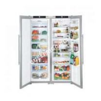 Réfrigérateurs LIEBHERR Réfrigérateur Portes Her SbsesC Au - Frigo 2 portes