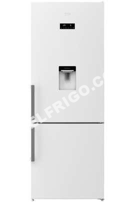 r frig rateurs beko rcne520e21dw refrirateur conlateur en bas rcne520e21dw a. Black Bedroom Furniture Sets. Home Design Ideas