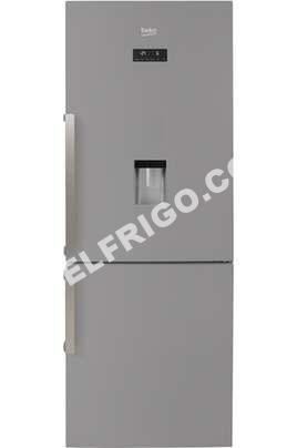 r frig rateurs beko rcne520e31ds silver refrig rateur cong lateur en bas rc. Black Bedroom Furniture Sets. Home Design Ideas