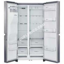 Frigo américain  Réfrigérateur GSL760PZXV - Réfrigérateur/congélateur - p libre - larur : 912 cm - profondeur : 738 cm - hauteur : 179 cm - 601 litres - côte